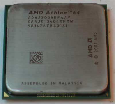 AMD Athlon 64 2800+ Processor Review - Processors 27