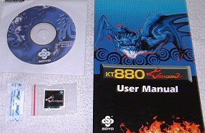 Soyo SY-KT880 Dragon 2 Motherboard - Motherboards 56