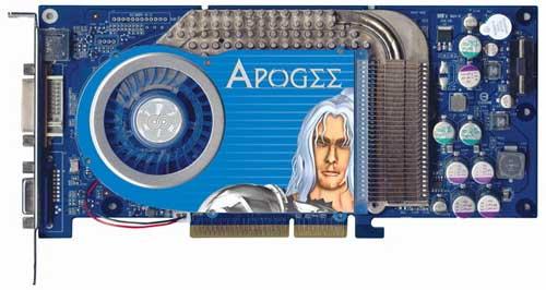 Chaintech Apogee AA6800 GeForce 6800 OC - Graphics Cards  111