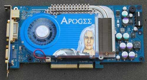 Chaintech Apogee AA6800 GeForce 6800 OC - Graphics Cards 116