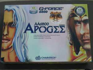 Chaintech Apogee AA6800 GeForce 6800 OC