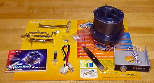 Gigabyte 3D Rocket Cooler-Pro - Cases and Cooling 20