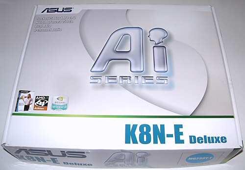 Asus K8N-E Deluxe Socket 754 Motherboard - Motherboards 1