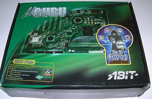 Abit KV8 Pro Socket 754 Motherboard - Motherboards  1