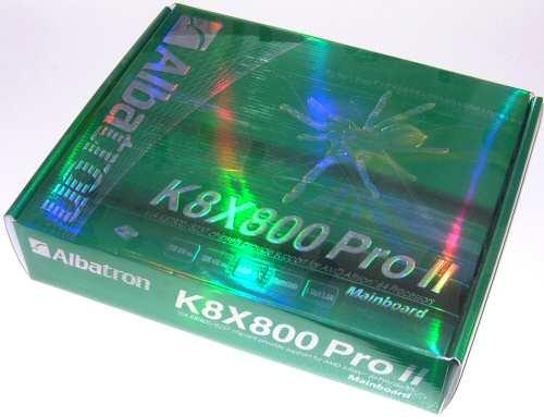 Albatron K8X800 ProII Socket 754 Motherboard - Motherboards 45