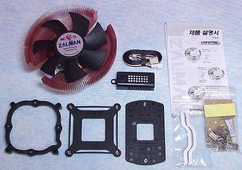 Zalman CNPS7700-Cu Heatsink Fan - Cases and Cooling 22