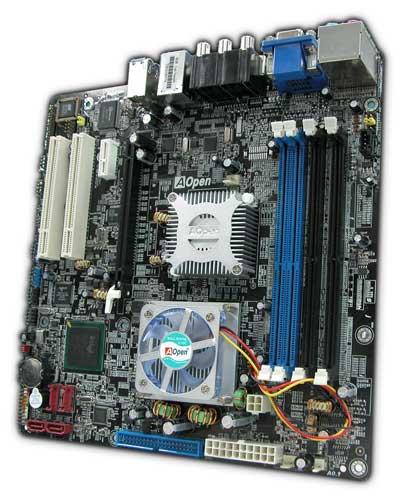 AOpen Shows Pentium M Motherboard based on the Alviso Platform - Motherboards 2