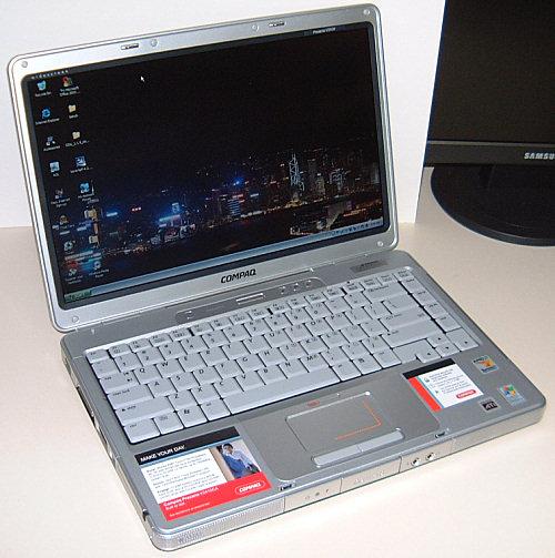 Compaq Presario V2410 Turion 64 Laptop Review - Mobile 24
