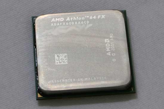 AMD Athlon 64 FX-60 Dual Core Processor Review - Processors  2