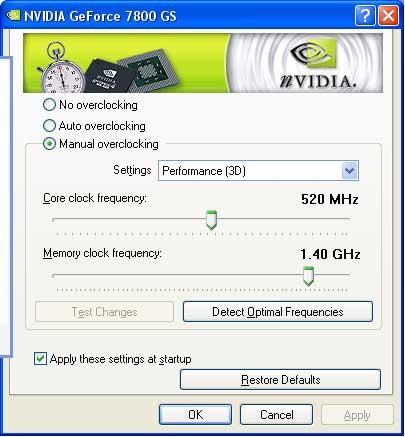 XFX GeForce 7800 GS XT Edition - An AGP Upgrade - Graphics Cards 81