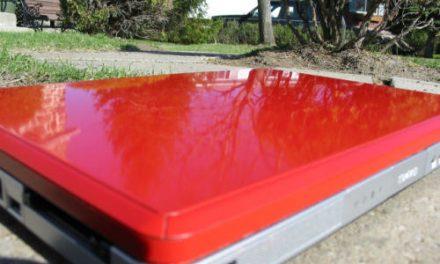 Wipeout's DIY Laptop Paint Job