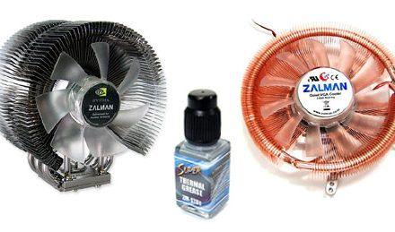 Zalman CNPS9500 AM2 and VF900-Cu LED Ultra Quiet Coolers
