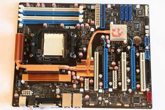 Asus Crosshair nForce 590 SLI AM2 Motherboard Review - Motherboards 143