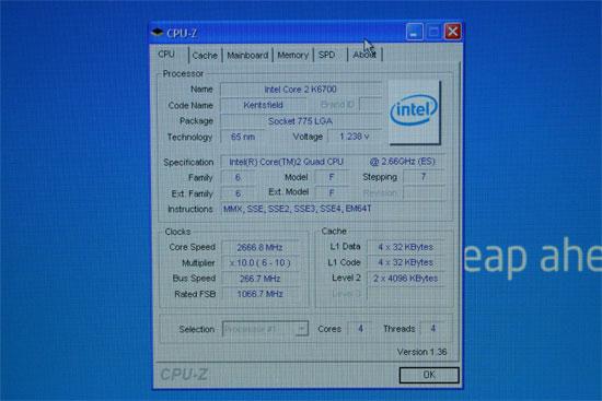 IDF 2006: Intel Core 2 Extreme QX6700 Quad Core Benchmarks - Processors 5