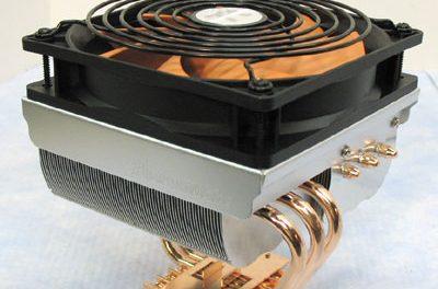Thermaltake Big Typhoon VX Heatsink Fan Review