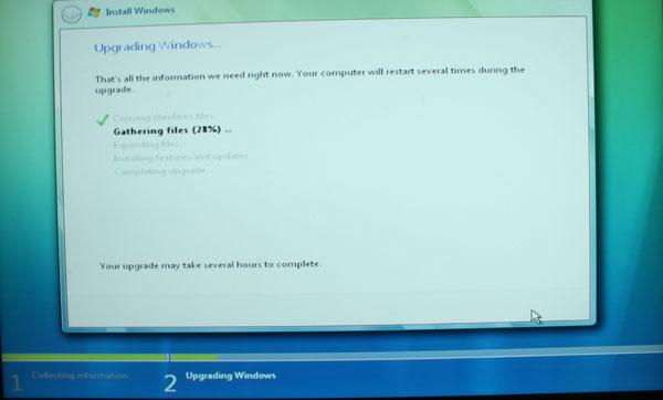 Windows Vista Installation Process - Upgrade and Clean - General Tech 39