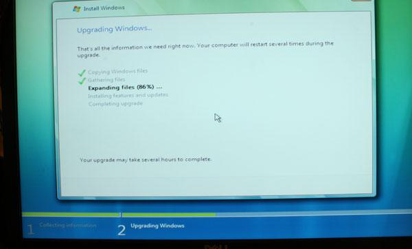 Windows Vista Installation Process - Upgrade and Clean - General Tech 40