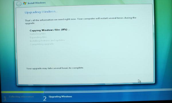 Windows Vista Installation Process - Upgrade and Clean - General Tech 38
