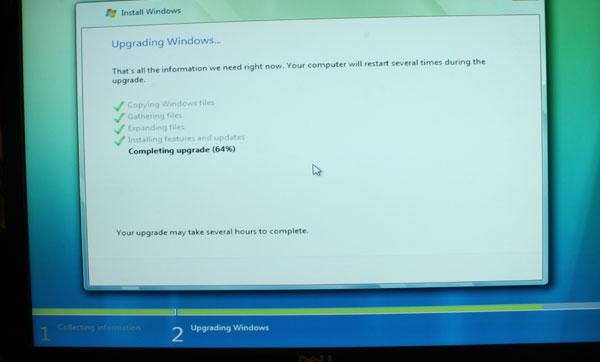 Windows Vista Installation Process - Upgrade and Clean - General Tech 41