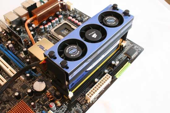Corsair Dominator Memory Review - New Heatsinks and Cooling - Memory  3