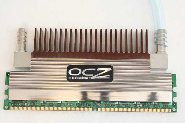 OCZ PC2-9200 Flex XLC Memory Review - Passive and Liquid Cooled - Memory  1
