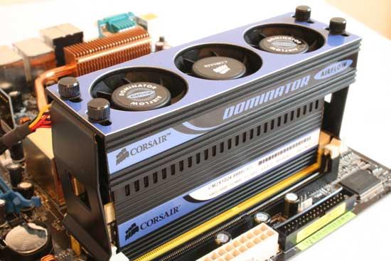 Corsair Dominator Memory Review - New Heatsinks and Cooling - Memory  4