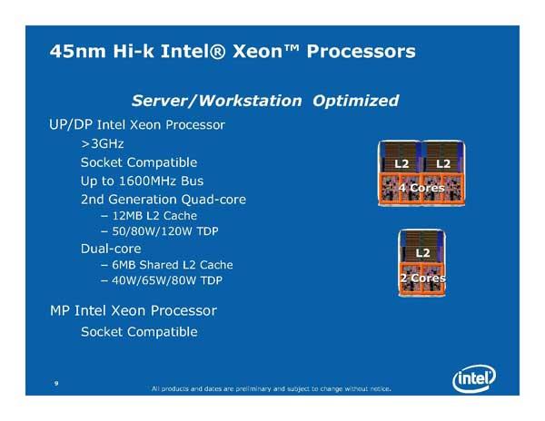 Intel Next Generation CPU Technology - Penryn and Nehalem - Processors  27