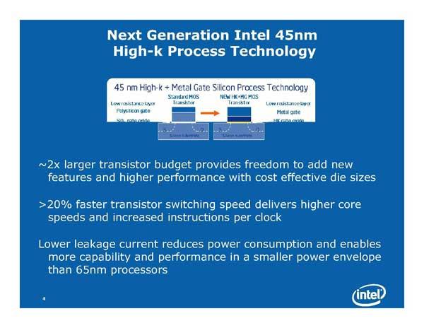 Intel Next Generation CPU Technology - Penryn and Nehalem - Processors  22