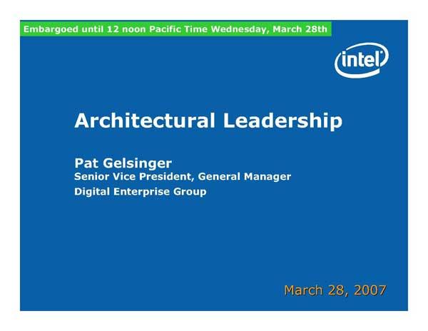 Intel Next Generation CPU Technology - Penryn and Nehalem - Processors  19