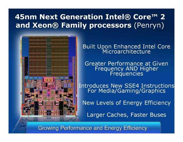 Intel Next Generation CPU Technology - Penryn and Nehalem - Processors  23