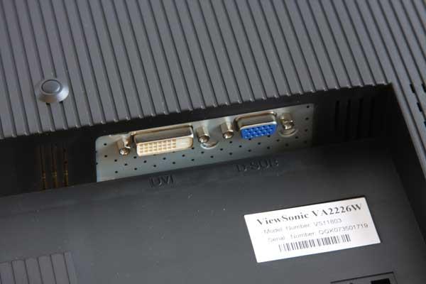 "Viewsonic VA2226w 22"" Widescreen LCD Monitor Review - Displays 29"
