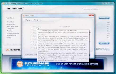 Futuremark PCMark Vantage Benchmark Overview - General Tech  19