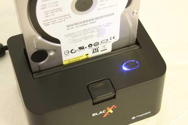 Thermaltake BlacX SATA Hard Drive USB Docking Station Review - Storage  18