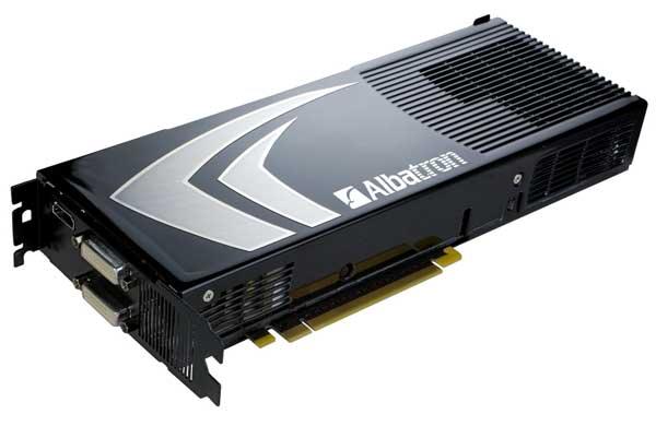 CeBit 2008: Albatron shows off 9800 GX2 images - Graphics Cards  2