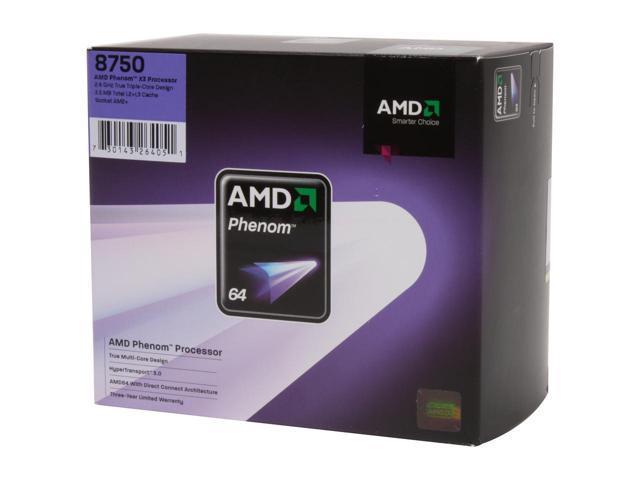 AMD Phenom X3 Triple-Core processors already on sale - Processors 4
