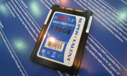 Post-Computex 2008: Super Talent shows off SSDs