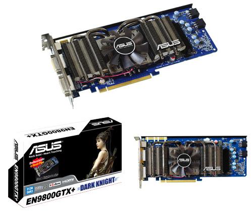 ASUS GeForce 9800 GTX+ Dark Knight Edition