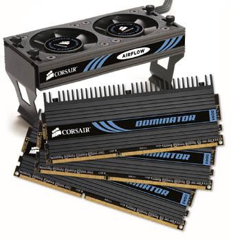Corsair Launches Triple Pack Memory modules for Intel Core i7 processors - Memory 2