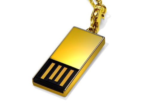 Super Talent Announces 18-Carat Solid Gold USB Drive - Storage  1