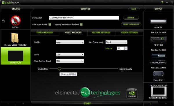 Battle of GPU Transcoders: ATI Avivo Converter and NVIDIA Elemental Badaboom - Graphics Cards 21