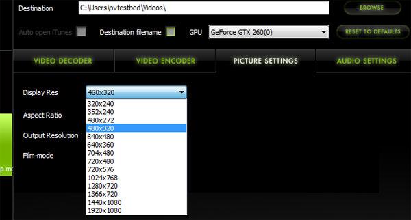 Elemental Technologies Badaboom Media Converter v1.1 Update - Graphics Cards 15