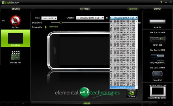 Battle of GPU Transcoders: ATI Avivo Converter and NVIDIA Elemental Badaboom - Graphics Cards 22