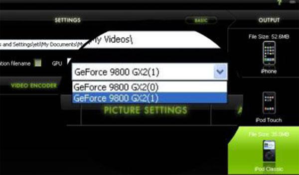 Elemental Technologies Badaboom Media Converter v1.1 Update - Graphics Cards 16