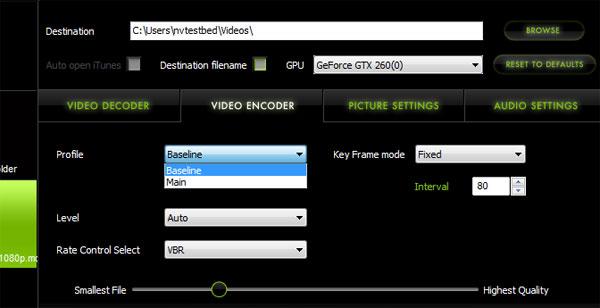 Elemental Technologies Badaboom Media Converter v1.1 Update - Graphics Cards 14