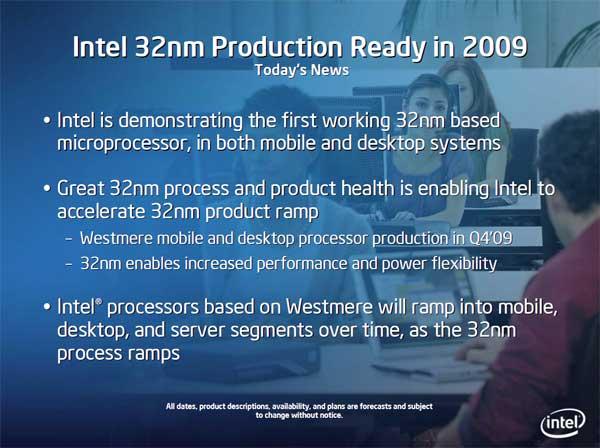 Intel 32nm Westmere CPU and Roadmap Updates - Processors  18