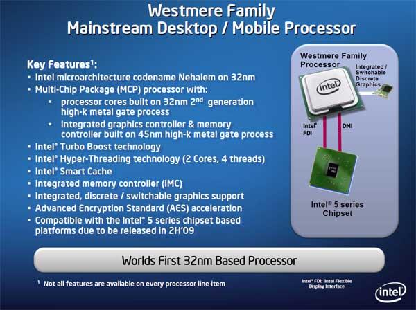 Intel 32nm Westmere CPU and Roadmap Updates - Processors  28