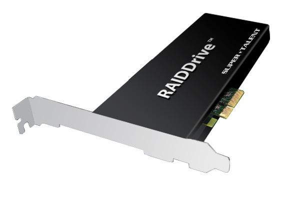 Super Talent Develops 2048 GB PCIe RAID SSD with 1.3 GB/sec Throughput