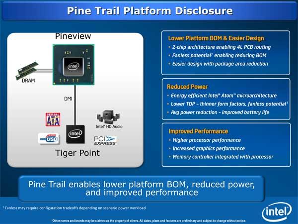 Intel Pine Trail (Next-Gen Atom Platform) & Moblin Updates - Mobile 7