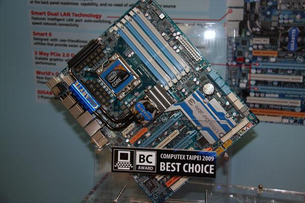 Computex 2009: Gigabyte pushes motherboard boundaries - Motherboards  3