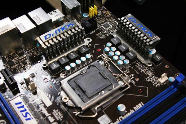 Sneak Peek: MSI P55-GD65 motherboard spotted - Motherboards  2